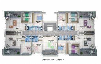 Konak SeaSide Homes  - Property Plans-24